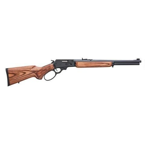 "Marlin Model 336BL Lever Action Centerfire Rifle .30-30 Winchester 18"" Barrel 6 Rounds Large Loop Lever Laminated Wood Pistol Grip Stock Blued Barrel and Receiver - 70502 - 026495705022"