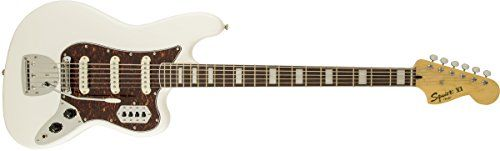 Squier by Fender Vintage Modified Bass VI, Olympic White