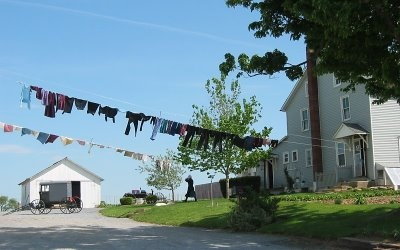 Image result for amish clothesline