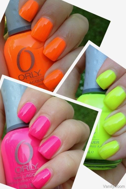 Belle néon ongles