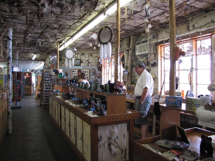 Castle Rock Gift Shop St Ignace Michigan Pinterest
