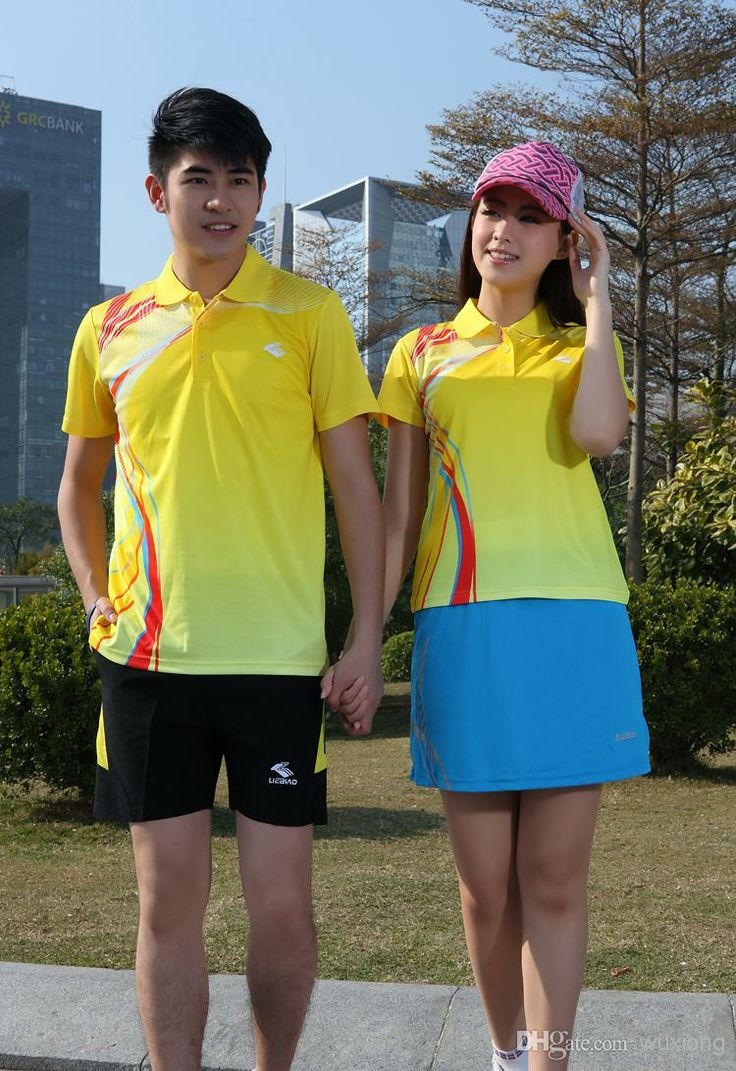 Best The New Badminton Sports Clothing for Men And Women Couples Suite Online with $15.71/Piece | DHgate