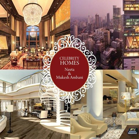 #CelebrityHomes : A peek into worlds billion dollar home Mukesh & Neeta Ambani. #BestHomes #SaturdaySwag #Interiors #Decor #Furnishings #Homes #BillionDollarHome #Antilia #Home
