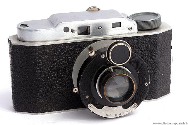 Birnbaum Super Perforetta Vintage cameras collection by Sylvain Halgand. 1940