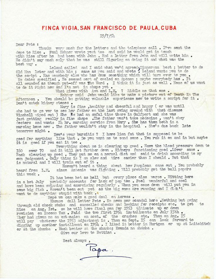 53 best Historical Letters \ Autographs images on Pinterest - nixon resignation letter