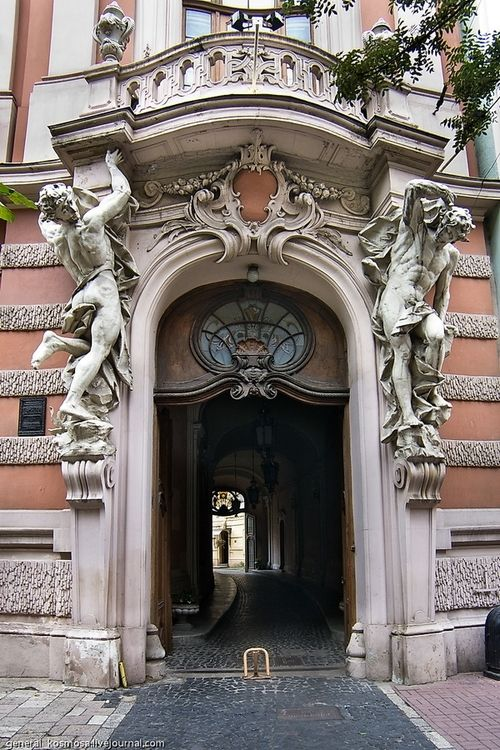 House of Scientists, Lviv, Ukraine (via English Russia)