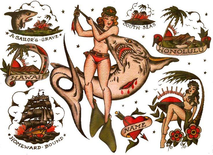 Vintage Tattoos Designs 94