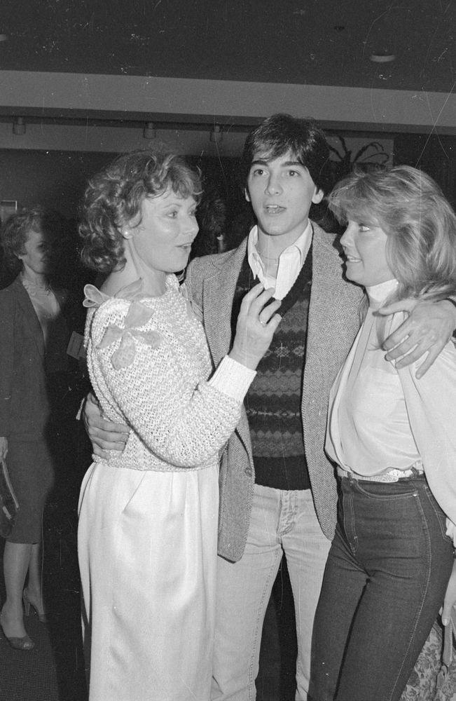 Lot of (4) 1983 SCOTT BAIO, HEATHER LOCKLEAR & MARION ROSS Original Negatives gp