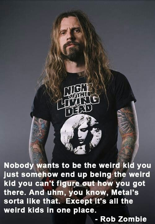 Rob Zombie Rock on freaks & weirdos!!!!