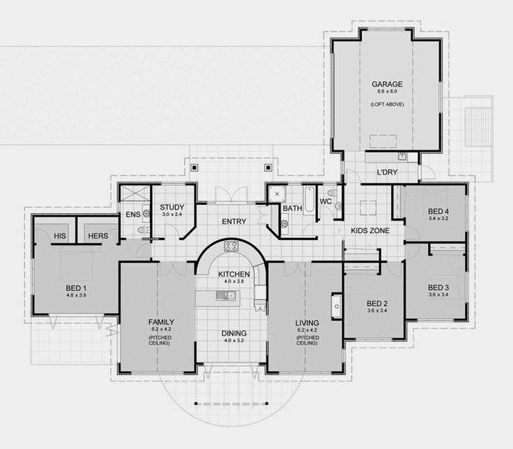 David Reid Homes Lifestyle 6 Specifications House Plans