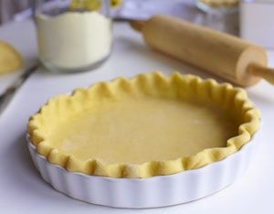 Perfect Buttery and Flaky Pie Crust {secret ingredient you would never guess!}