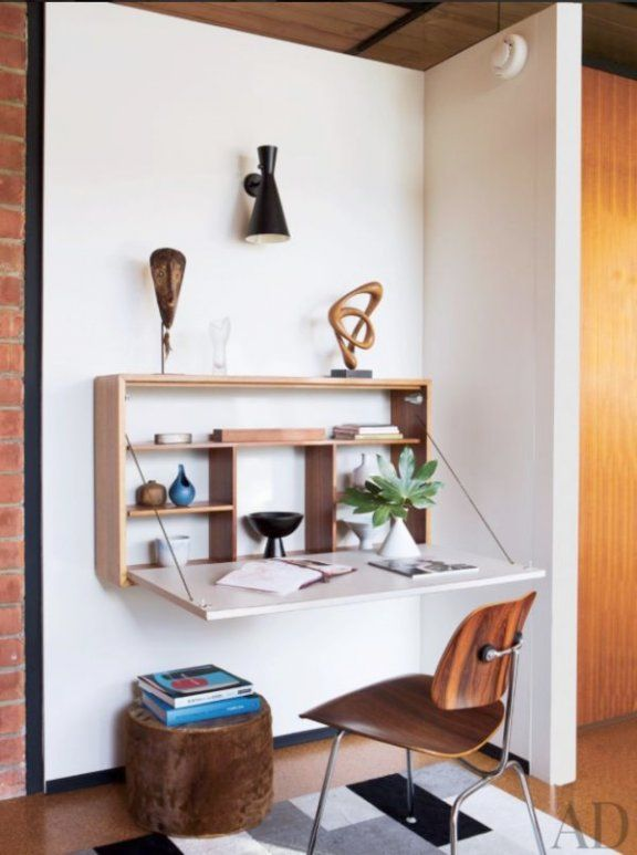 Fold Down Desk Attached To Wall
