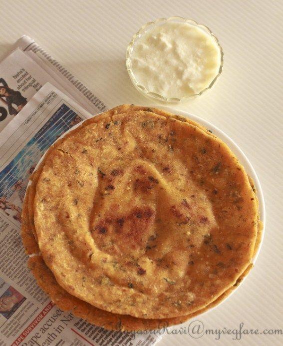Kaarad Rotti (Rice flour Indian Flat bread)