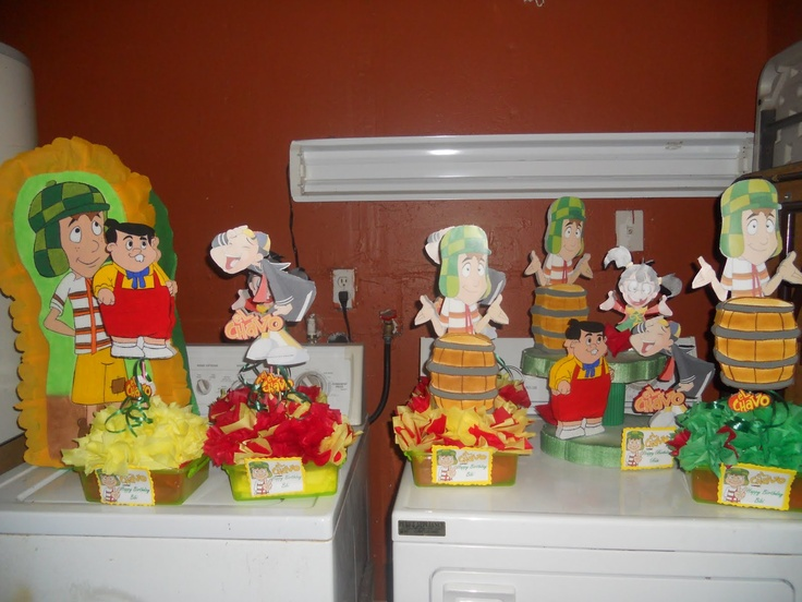 CHAVO DEL 8 FIESTA on Pinterest | Mexican Candy, Mexican Weddings ...