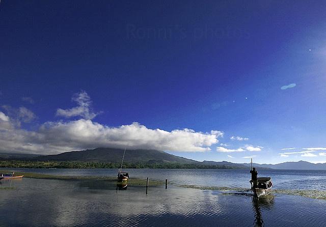 kintamani mountain lake