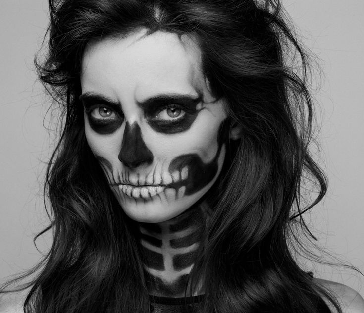 Women's Skeleton Costume | DIY Halloween Skeleton Costume