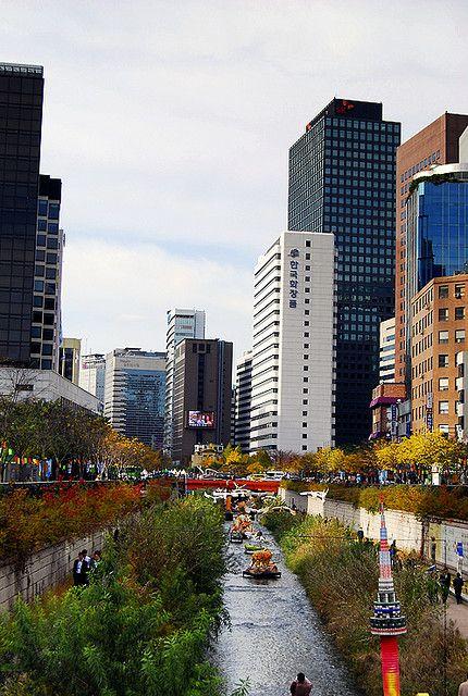 Cheonggyecheon, South Korea
