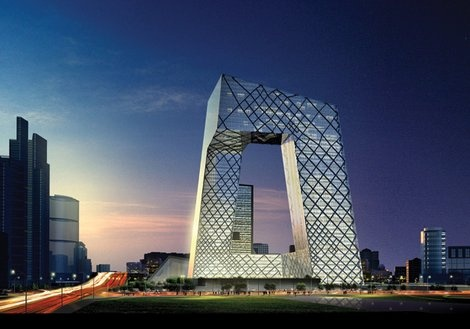 China Central Television HQ rendering
