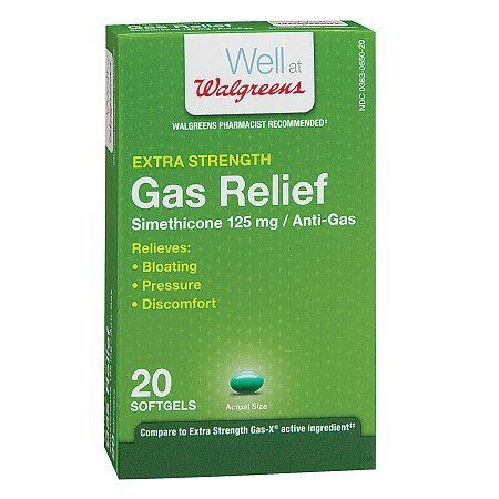 Walgreens Gas Relief Softgels - 20 ea