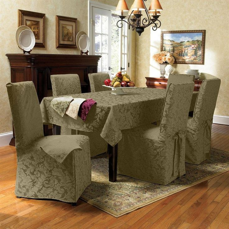 Terrific Dining Room Chair Seat Covers