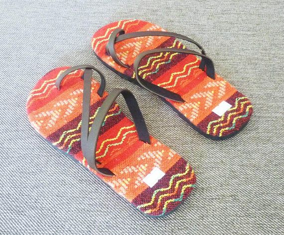 Tribal slippers Made from tribal fabric, pu leather. Measure size 4 size in the options 23.5 cm 24.5 cm 26.5 cm 28 cm Handing time 2-3 business days Shipping : Thailand post with tracking no. Delivery times : within 12-25 days ...30-70 days to canada ,brazil ,russia ,mexico. Ship to
