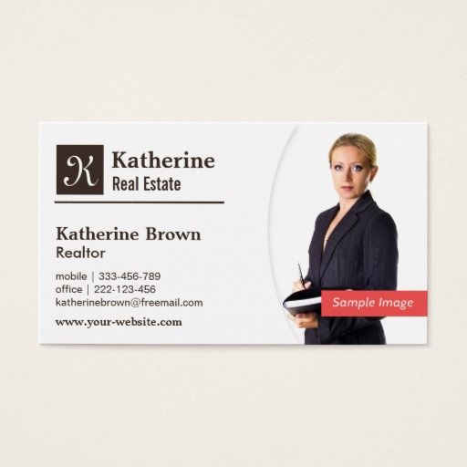 519 best real estate business cards images on pinterest real modern monogram realtor real estate photo business card reheart Images