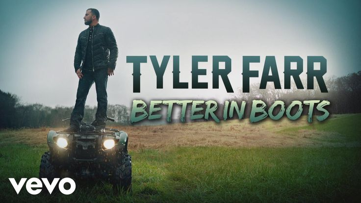 Tyler Farr - Better in Boots (Audio) - YouTube