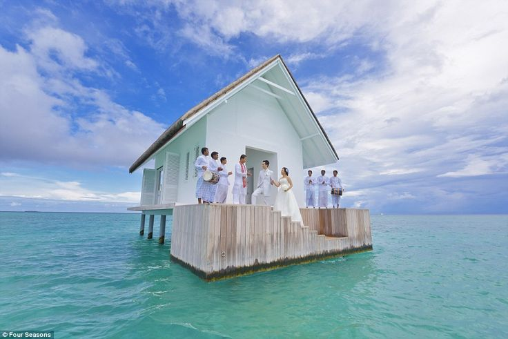 Agora Você Já Pode Se Casar No Meio Do Oceano Nas Maldivas