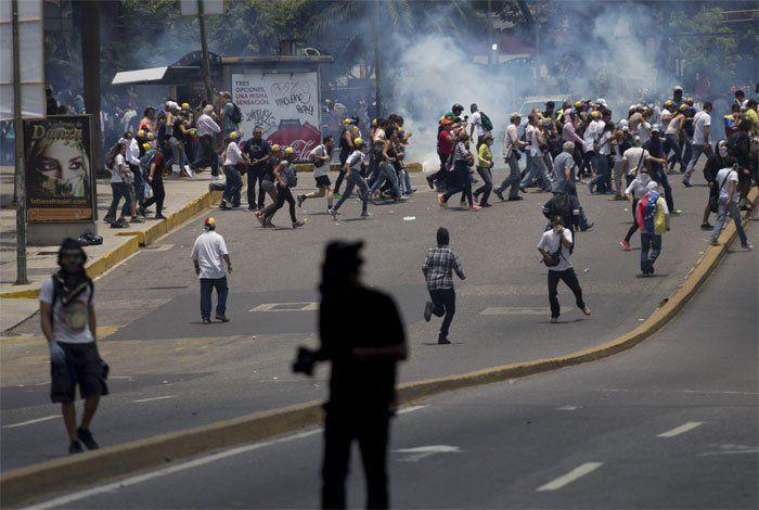 CIDH urge a Venezuela proteger a manifestantes