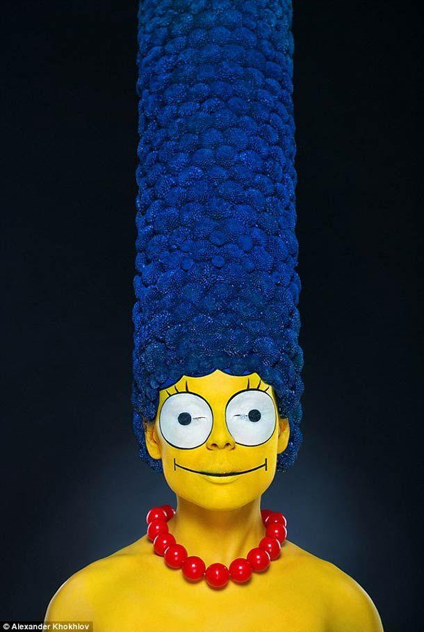 Marge Simpson par  Alexander Khokhlov