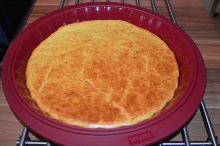 Quel délice ce pancake géant au four. Avec Weight Watchers.