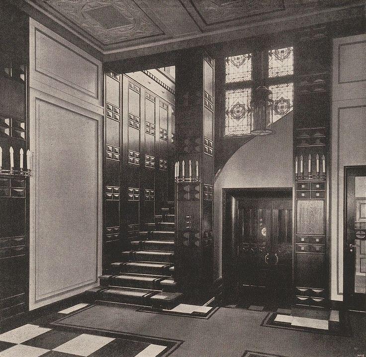 Haus am Wannsee Flur 1922