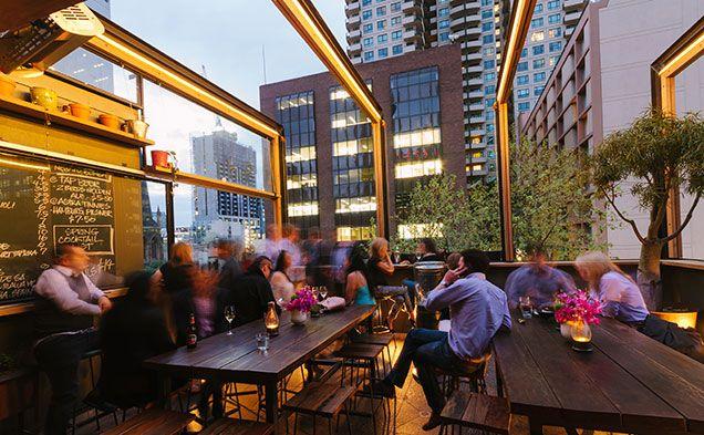 Bomba Tapas en Rooftop Bar 103 Lonsdale Street, Melbourne