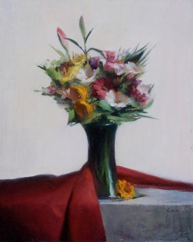 """Summer Bouquet"", Leah Lopez : Lot 148"