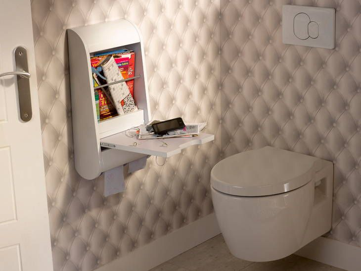 157 best Toilette & WC stylés images on Pinterest | Bathroom, Half ...