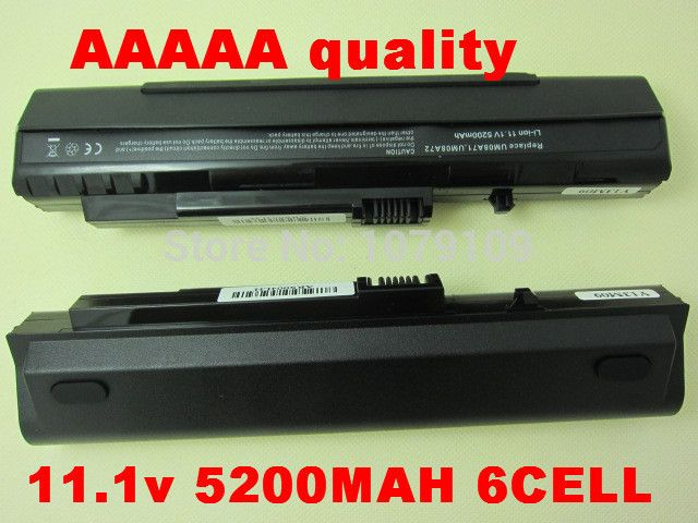 3-Year Warranty! Battery For Acer Aspire One Pro 531h ZG5 KAV10 KAV60 A110 A150 D150 D250