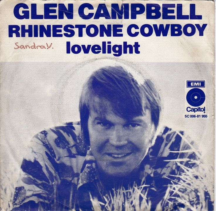 September 6, 1975 - Glen Campbell started a two week run at No.1 on the US singles chart with 'Rhinestone Cowboy', his first No.1 after 13 Top 40 hits. The record gained three Grammy nominations and was the Country Music Association's Song of the Year for 1976. •• #glencampbell #1970s #country