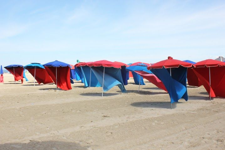 Plage de Deauville #plage #deauville