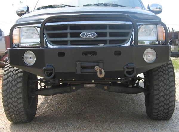 Front Winch Bumper Ford F 150 Expedition 97 03 F150 97 02 Expedition Bluelakeoffroad Winch Bumpers Ford F150 Ford F150 Custom