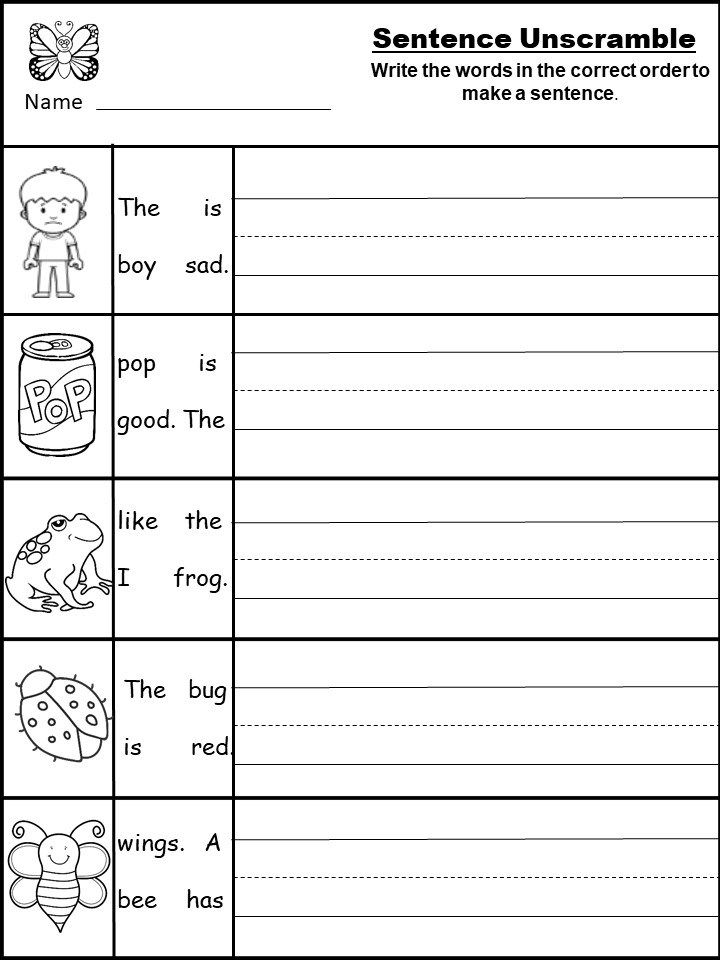 Free Writing Printable Kindergarten And First Grade Kindermomma Com Writing Worksheets Kindergarten Kindergarten Writing Prompts Writing Sentences Kindergarten