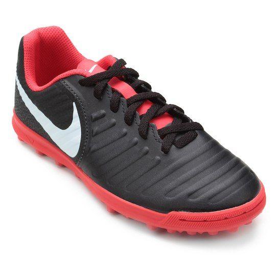 2563dff0f1e Chuteira Society Infantil Nike Tiempo Legend 7 Club TF - Preto ...