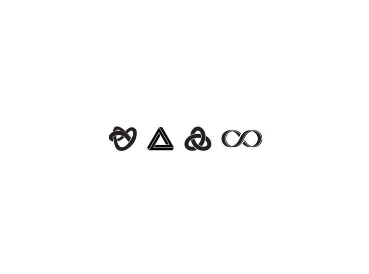 Символы бесконечности.