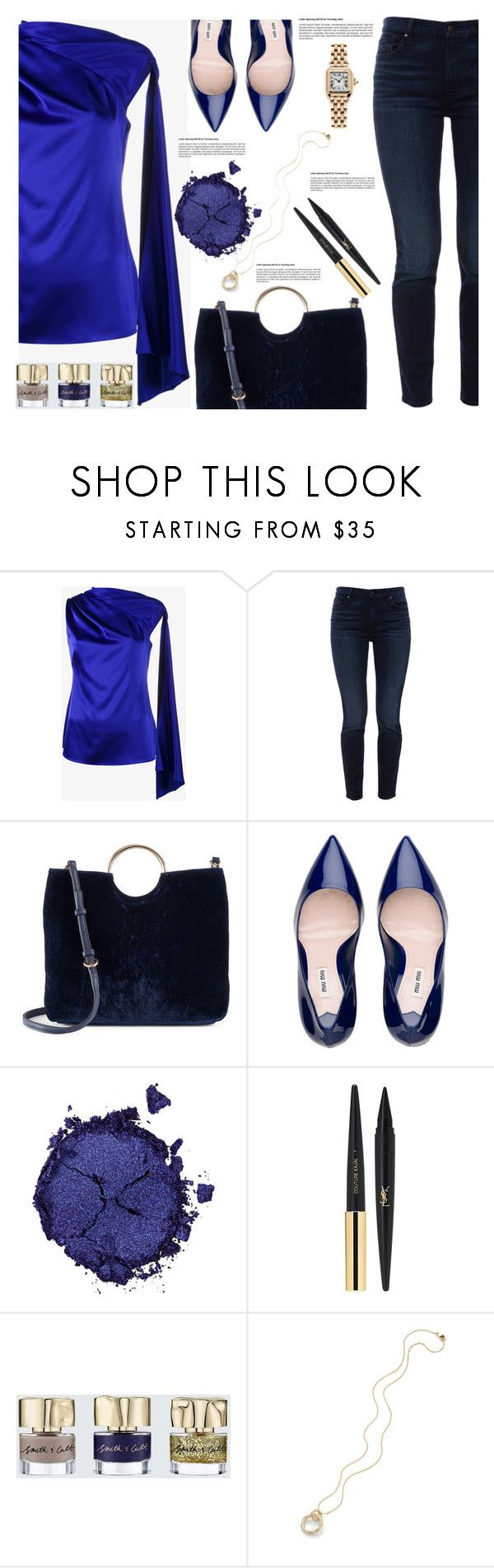 """Untitled #1792"" by lbite ❤ liked on Polyvore featuring Osman, Jen7, LC Lauren Conrad, Pat McGrath, Yves Saint Laurent, Smith & Cult, Cartier, polyvorecommunity and polyvoreeditorial"