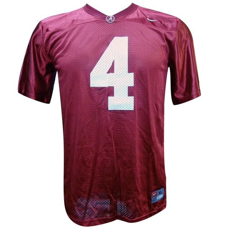 Alabama Crimson Tide #4 Replica Youth Football Jersey - TJ Yeldon
