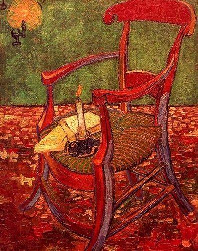 Vincent Van Gogh (1853-1890) - 1888 Gauguin's Chair