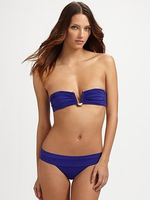 #Daytime #Poolside Clube Bossa - Solid Bandeau Two-Piece Bikini - Saks.com #SaksLLTrip: Body Type, Bandeau Bikini, Bathing Suits, Sakslltrip Pool, Daytime Poolside, Bikini Sakslltrip, Bandeau Two Piece, Poolside Clube
