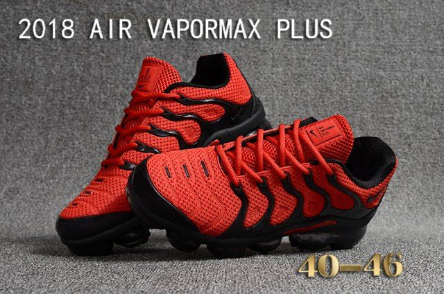406a42268a7ea Nike Air VaporMax KPU Red/Black Men's Running Shoes Sneakers in 2019 ...