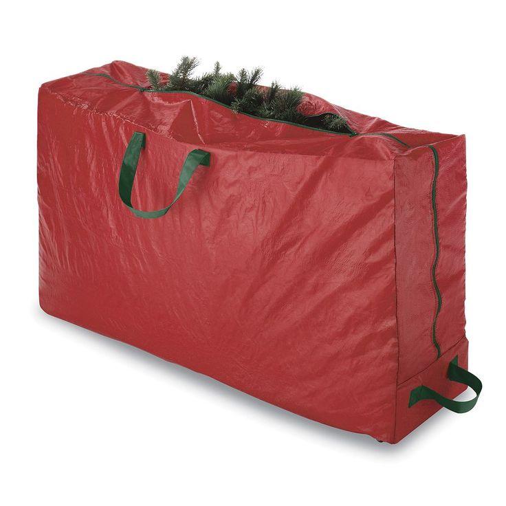Whitmor Christmas Tree Rolling Storage Bag, Red