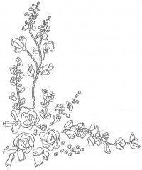 Схема №126 для вышивания лентами