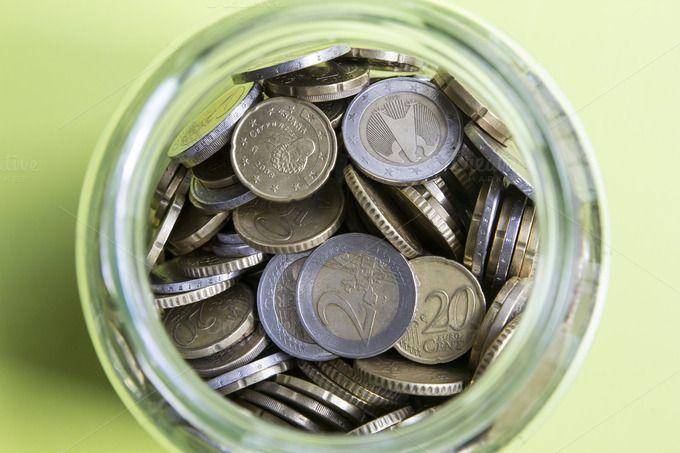 Euro coins by agafapaperiapunta on Creative Market